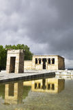 The temple Debod Royalty Free Stock Image