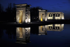 Temple of Debod Royalty Free Stock Image