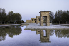 Temple of Debod Royalty Free Stock Photos