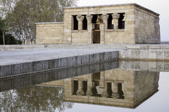 Temple of Debod Royalty Free Stock Photography
