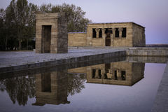 Temple Debod Stock Photo