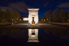 Temple of Debod Royalty Free Stock Photo