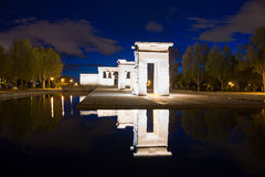 Temple of Debod Stock Photography
