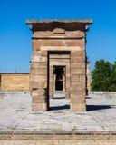 Temple of Debod Archs Stock Photo