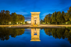 The Temple of Debod Stock Images