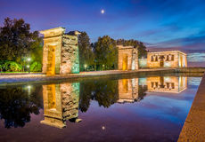 The Temple of Debod Royalty Free Stock Images