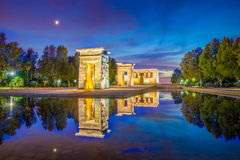 The Temple of Debod Royalty Free Stock Photos