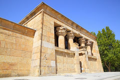 Temple of Debod in Madrid Royalty Free Stock Images