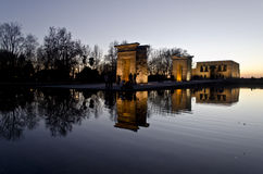 Temple of Debod. Stock Photo