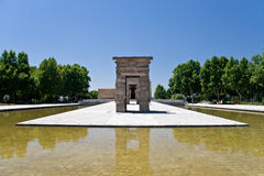 The Temple of Debod in Madrid, Spain Royalty Free Stock Images