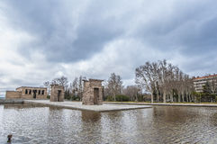 The Temple of Debod in Madrid, Spain. Royalty Free Stock Image