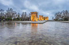 The Temple of Debod in Madrid, Spain. Royalty Free Stock Photos