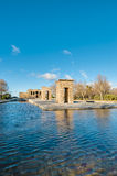 The Temple of Debod in Madrid, Spain. Royalty Free Stock Photography
