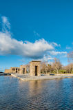 The Temple of Debod in Madrid, Spain. Royalty Free Stock Photo