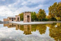 Temple of Debod, Madrid, Spain Royalty Free Stock Photos