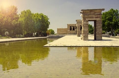 The Temple of Debod, Madrid Royalty Free Stock Photo