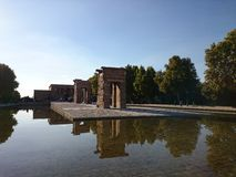 Temple of Debod, Madrid Royalty Free Stock Image