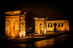 Temple of Debod Stock Image