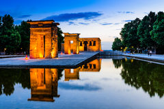 Temple of Debod Stock Images