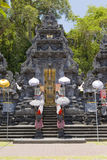 Temple, decorated to holiday. Bali Stock Photography