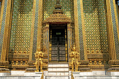 Temple in grand palace bangkok thailand Stock Photo
