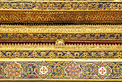 Temple in grand palace bangkok thailand Royalty Free Stock Image