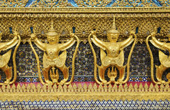 Temple in grand palace bangkok thailand Stock Image