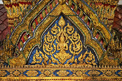 Temple in grand palace bangkok thailand Royalty Free Stock Photography