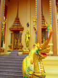Temple decorations. Common architectural style of Buddhist temples Buddhism exhibit a different architectural and decorative approach.Buddhist monks decorate all Stock Photography