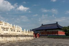 Huanggan Temple, Temple of Heaven, China royalty free stock photography