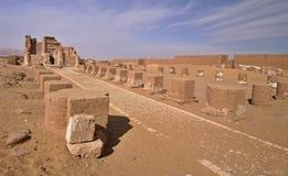 The temple of Deir el-Hagar Royalty Free Stock Photo