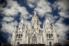 Temple del Sagrat Cor Foto de archivo