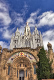 Temple del Sagrat Cor. Barcelona landmark, Spain. Stock Photo