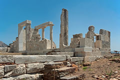 Temple of Demeter, Naxos, Greece Royalty Free Stock Photo