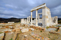 Temple of Demeter Stock Images