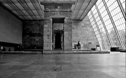 Temple of Dendur Hall Stock Image