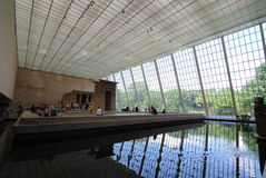 Temple of Dendur in Metropolitan Museum of Art Royalty Free Stock Photos