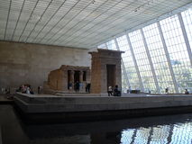 Temple of Dendur in Metropolitan Museum of Art. Royalty Free Stock Photo