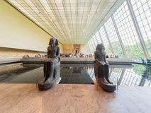 The Temple of Dendur at the Metropolitan Museum in NY Stock Photo