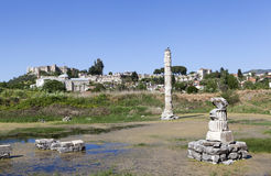 Temple des artemis Selcuk La Turquie Image libre de droits