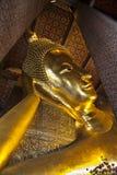 Temple des attractions touristiques étendues de Bouddha (Wat Pho), de point de repère et de no. 1 en Thaïlande. Images stock