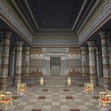 Temple des pharaons Photos libres de droits