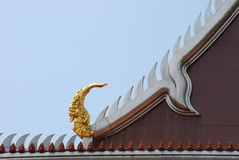Temple and design art in thailand Royalty Free Stock Photos