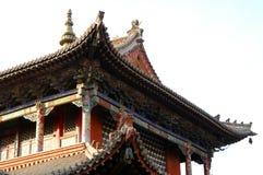 Temple detail. Main templeTemple museum of the Choijin Lama Ulaan-Baatar Mongolia Stock Images
