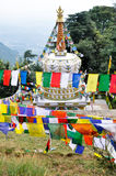 Temple in Dharamsala, McLeod Ganj Royalty Free Stock Photography