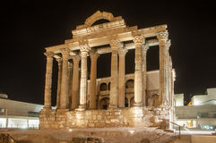 Temple of diana stock photo