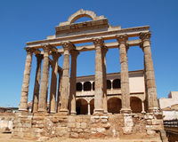 Temple of Diana royalty free stock image