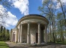 Temple of Diana in Arkadia in Poland Stock Photo