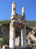 Temple of Diana Detail - Ephesus Stock Images