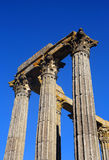 Temple of Diana , Evora, Portugal. Stock Images